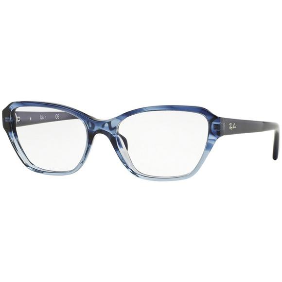 d7f4b1e9f Ray-Ban Accessories | Rayban Eyeglasses Blue Wdemo Lens | Poshmark